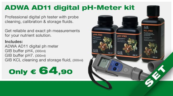 ADWA AD11 pH meter kit