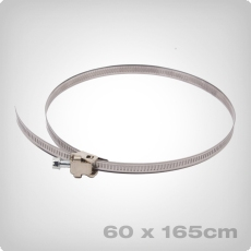 Universal hose clamp, 60-165mm