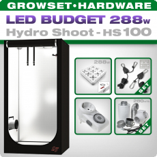 Grow Tent LED Kit Greenception Hydro Shoot 100, 288W