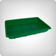Propagation tray unperforated, 50x32x6 cm