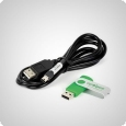 Apogee AC-100-Cable + AMS-Software (USB)