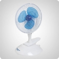 Bestron clip-on fan, 2 speed levels