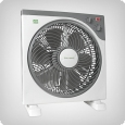 Box fan with timer, 3 levels, 45W