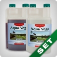 Canna Aqua Vega A & B, growth fertiliser, 1 litre