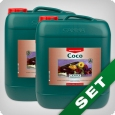 Canna Coco A & B, coco grow fertilizer, 10 litre