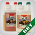 Canna Coco A & B, coco grow fertilizer, 1 litre