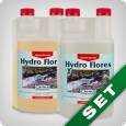 Canna Hydro Flores A & B, bloom booster, 1 litre