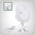 Clip-On Fan, oscillating