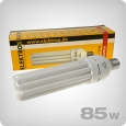 Elektrox CFL 2700K grow lights for flowering, 85W