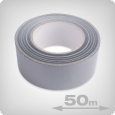 Gaffa Duct Tape 50 mm, 50 m, grey