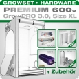 GrowPRO XL grow tent, Grow kit 600W Premium