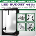 Grow Tent LED Kit Greenception GC-16 Hydro Shoot 120, 512 Watt