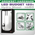 Grow Tent LED Kit Greenception Hydro Shoot 80, 128W