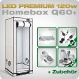 LED Grow Kit Homebox Ambient Q60 + 1x Q3W, 120W