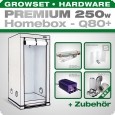 HOMEbox Q80 Silent Grow Tent Kit, 250W, 80x80x180cm