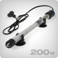 Heating rod with integrated temperature regulator, 200W