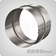 Female Ducting Coupler, 250mm