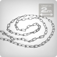 Knotted chain, e.g. to hang a reflector, 2m