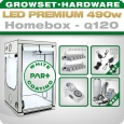LED Grow Kit Homebox Ambient Q120 + 2x Q6W, 490W