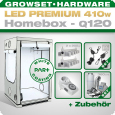 LED Grow Kit Homebox Ambient Q120 + 2x Q5W, 410W