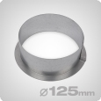 Wall flange 125mm