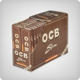 OCB Unbleached King Size Slim + Tips (32pcs)