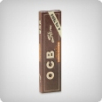 OCB Unbleached King Size Slim + Tips (single)