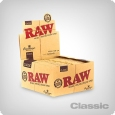 RAW Classic King Size Slim + Tips, (24 packs per Box)