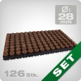Speedgrow propagation mat, 28/40, 126 piece.