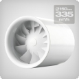 Axial Fan Silent, 335 m3/h, 150mm