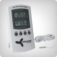 Digital hygro-thermometer, 2 measuring points