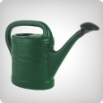 Plastic Watering Can 10 L green