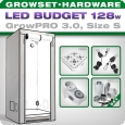 Growbox GrowPRO S, Grow Tent Set, LED 128W