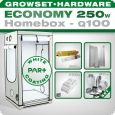 Homebox Ambient Q100 Grow kit 250W Economy