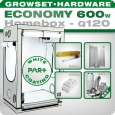Homebox Ambient Q120 Grow kit 600W Economy