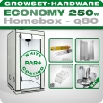 Homebox Ambient Q80+ Grow kit 250W Economy
