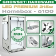 LED Grow Set Homebox Ambient Q100 + 1x Q6W, 215W