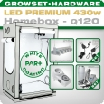 LED Grow Kit Homebox Ambient Q120 + 2x Q6W, 430W