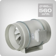 S&P TD-500/160 3V Duct Fan, Semi-radial